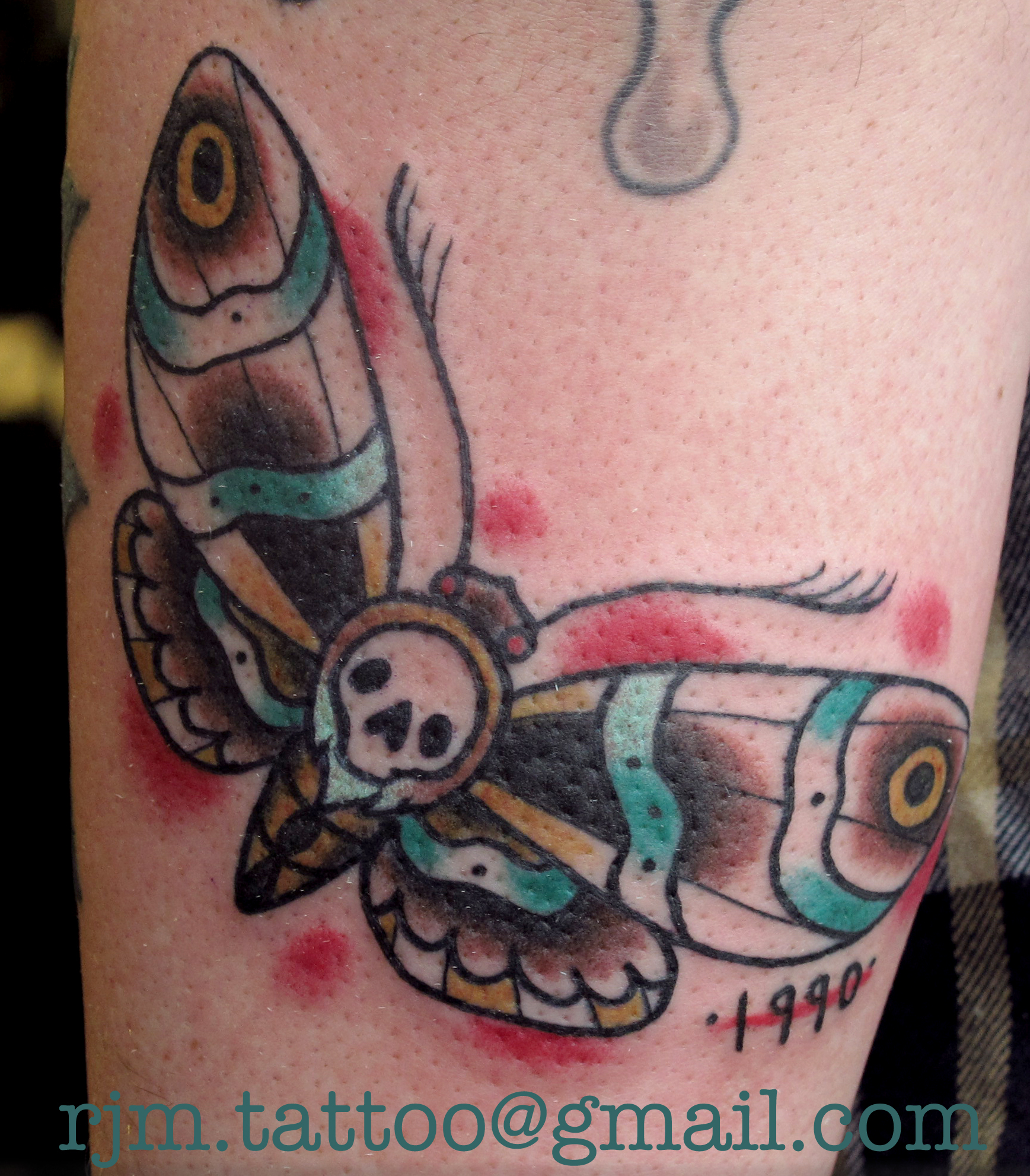 The Mexican Sugar Skull Tattoo